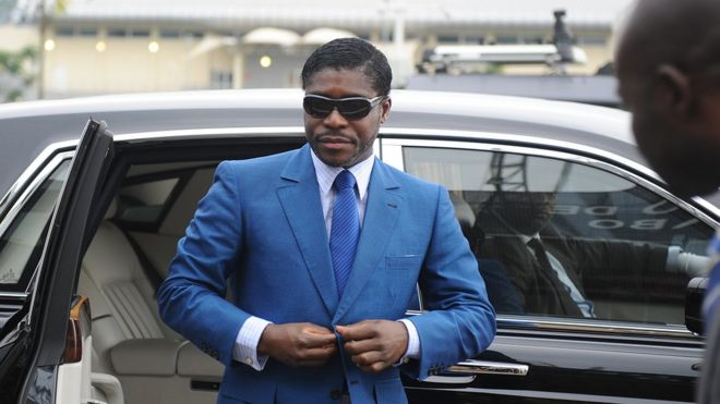 Image result for Obiang vice president equatorial guinea