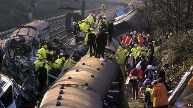 Image result for Clapham rail collision