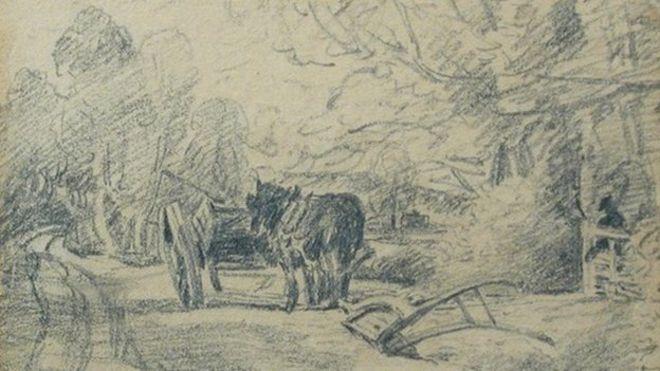 john constable pencil drawings