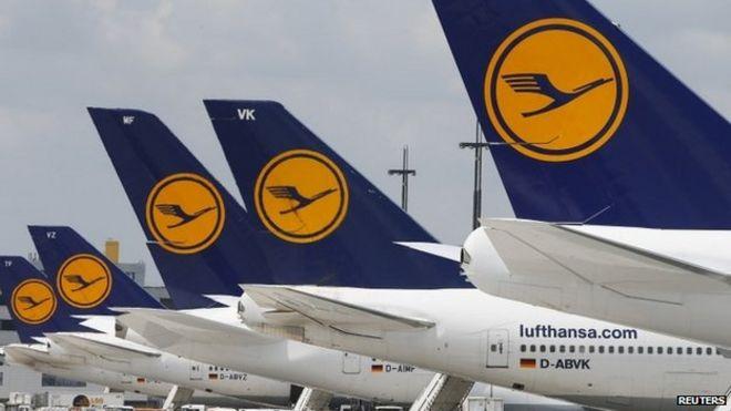 pilots strike grounds lufthansa