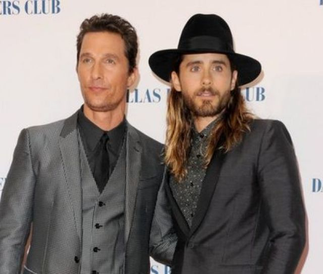 Actors Matthew Mcconaughey And Jared Leto Attend The Dallas Buyers Club Uk Premiere At