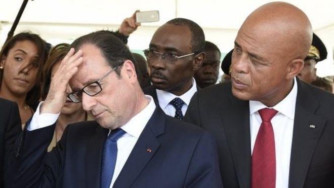 french president hollande pledges