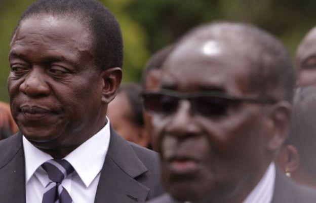 """Emmerson Mnangagwa, the """"Crocodile"""" and Robert Mugabe"""