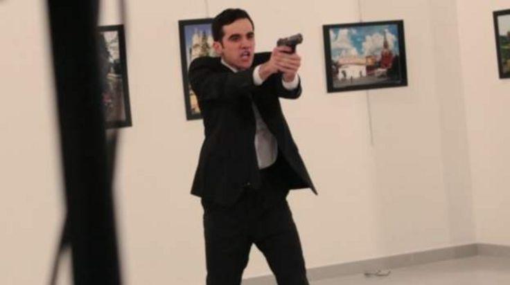 Hình ảnh tay súng, người đã bắn ông đại sứ