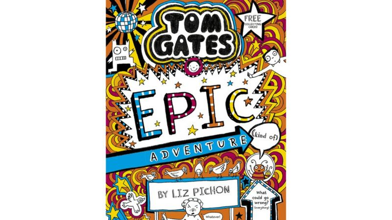 Tom Gates: Epic Adventure (Kind Of) book cover