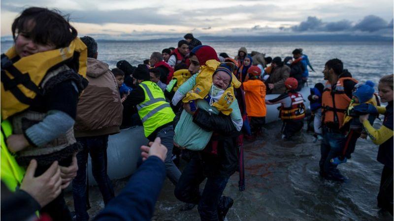 Refugiados sirio