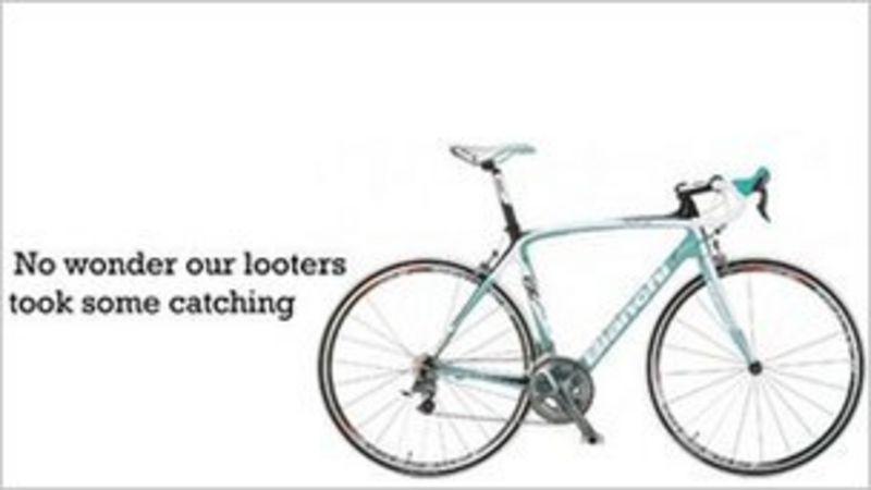 London riots: Teenager admits £20k Islington bike raid