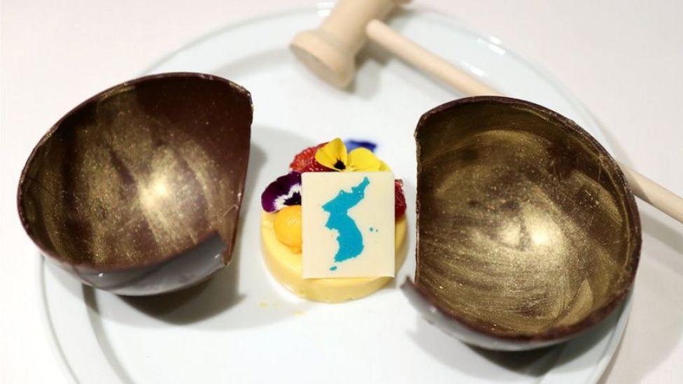 Postre de mango