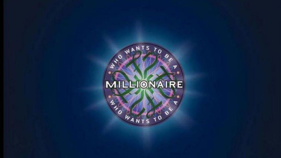 """Logotipo de """"¿Quién quiere ser millonario?"""" en inglés"""