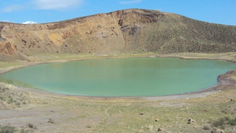 One of the lakes on Central Island National Park