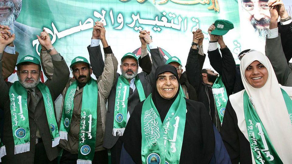 Candidatos de Hamas en las elecciones palestinas de 2006