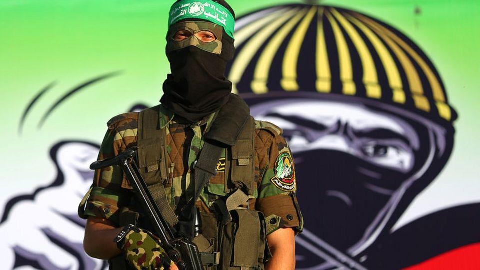 Efectivo armado de Hamas