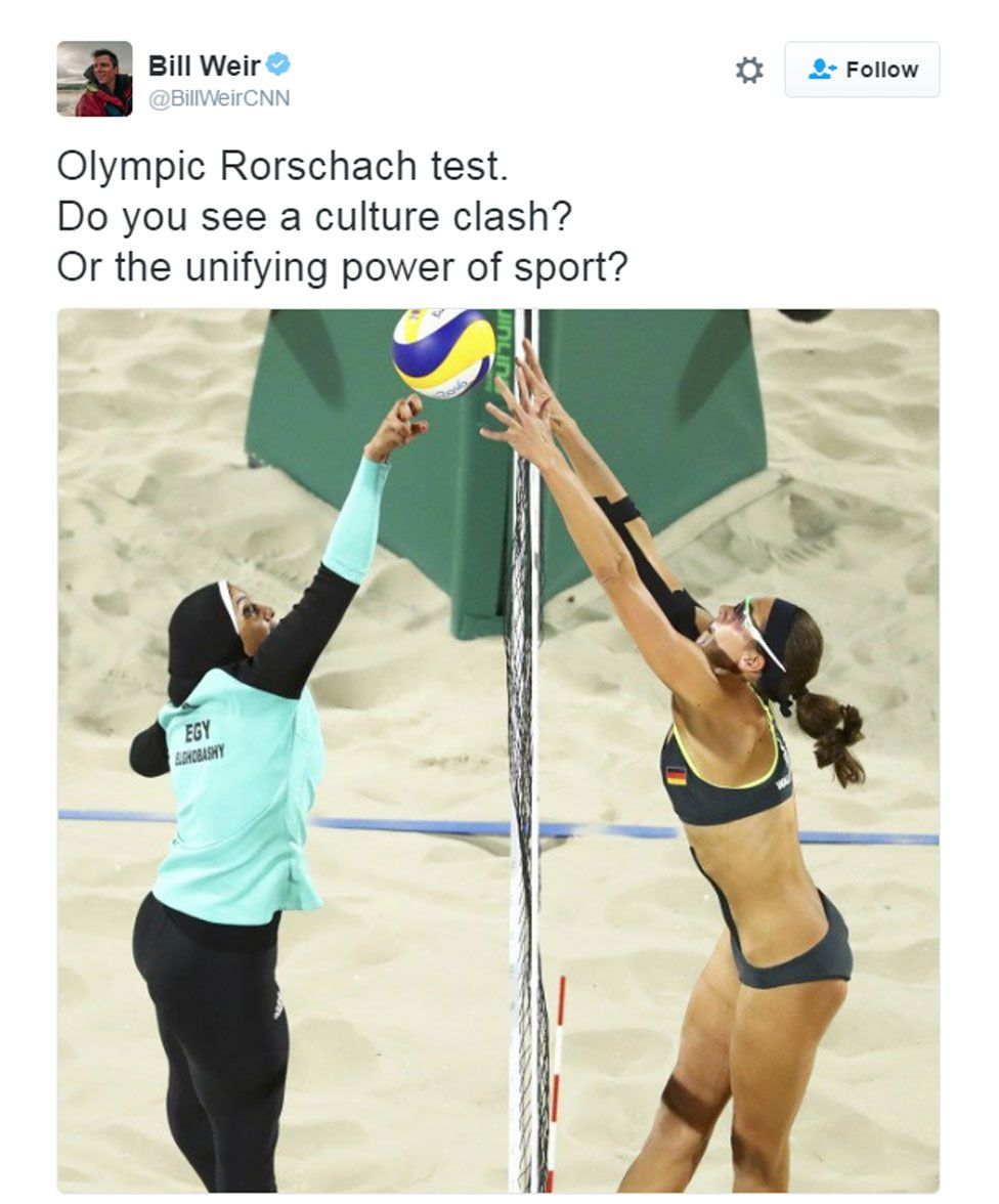 Volleyball Girl Meme : volleyball, Volleyball, Hijab:, Picture, Culture, Clash?