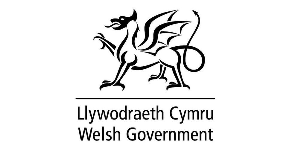 Welsh Government dragon logo used for stickers and snacks