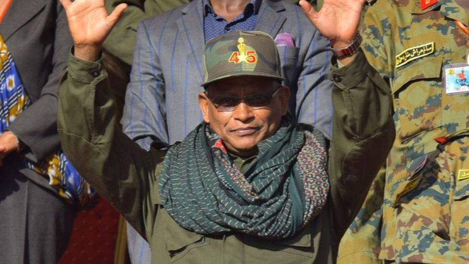 """Debretsion Gebremichael attends celebrations marking the 45th anniversary of the launching of the """"Armed Struggle of the Peoples of Tigray"""", on February 19, 2020, in Mekelle"""