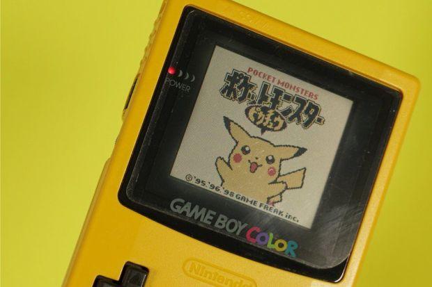 Pikachu game boy