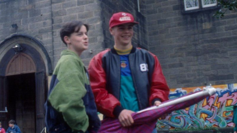 Ant and Dec on Byker Grove