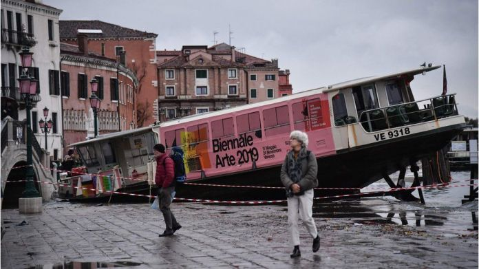 Водное такси Венеции