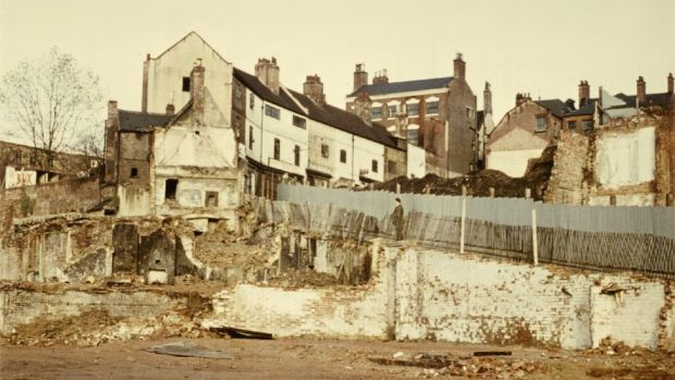 Broadmarsh area being demolished