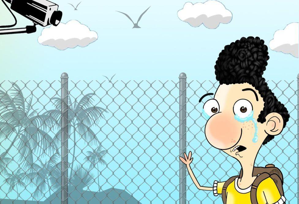 قصة رسام الكاريكاتير الإيراني الذي أنقذته لوحاته Bbc News Arabic