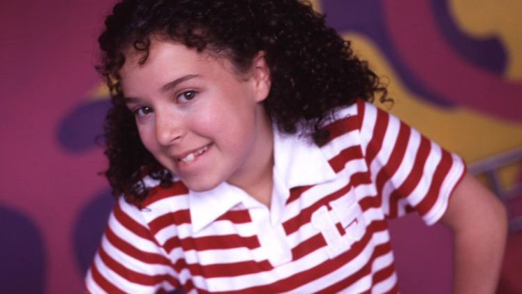 Dani Harmer as Tracy Beaker in 2003