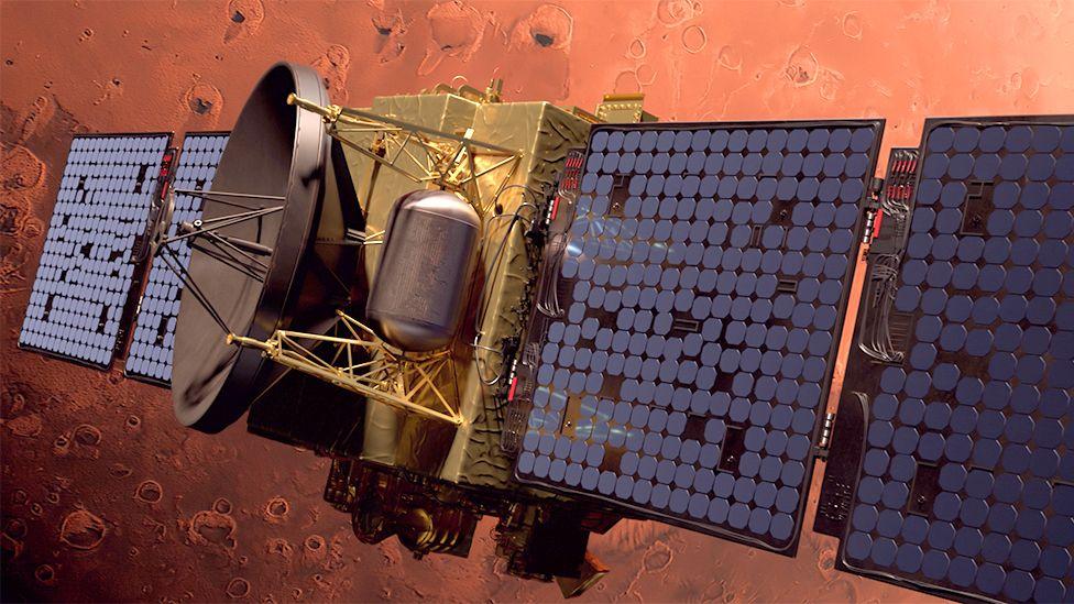 Artwork of Hope at Mars