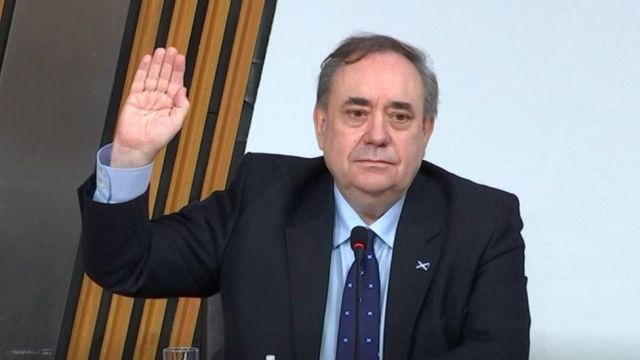 Alex Salmond facing Holyrood inquiry amid conspiracy claims - BBC News