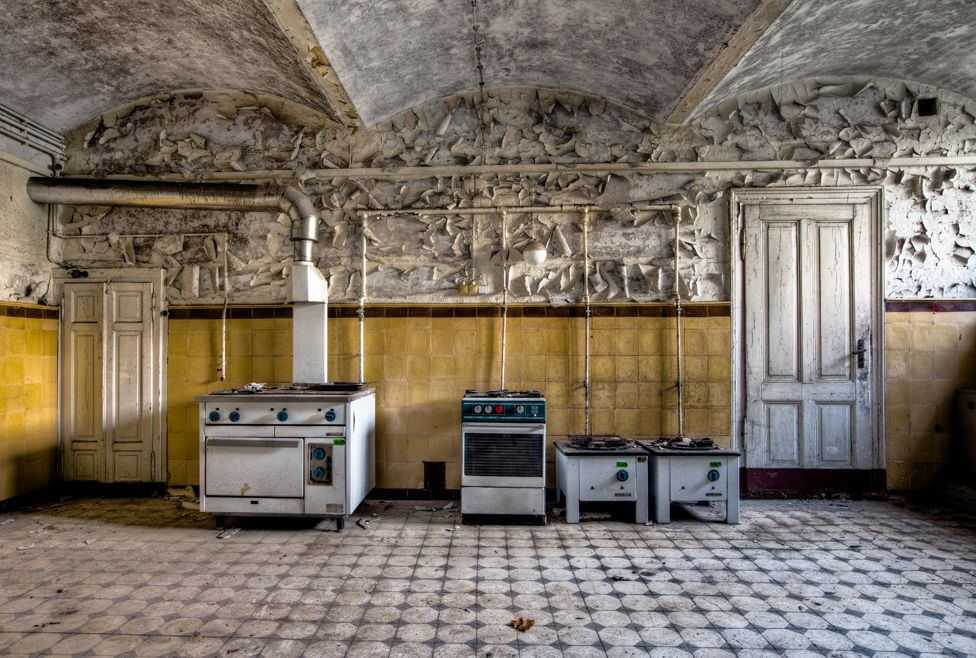 abandoned kitchen