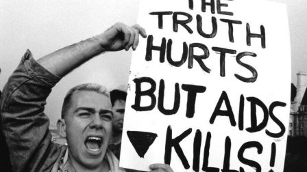 Life was a party before Aids arrived in London' - BBC News