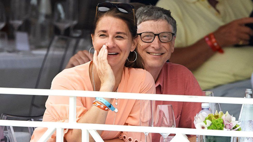 Bill Gates and Melinda Gates attend the Global Champions Tour of Monaco in Monte-Carlo, 23 June 2017 https://news.pindula.co.zw/