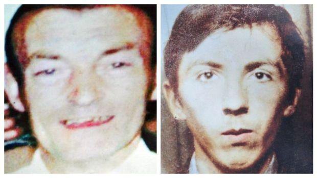 Victims joseph corr and john laverty