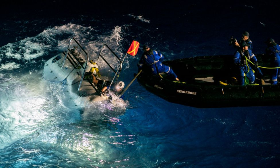 mariana trench deepest ever
