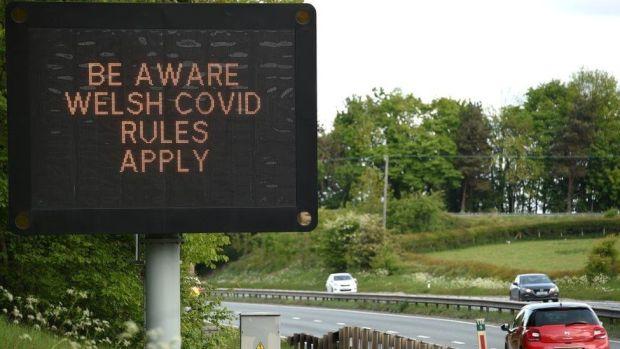 Sign at roadside