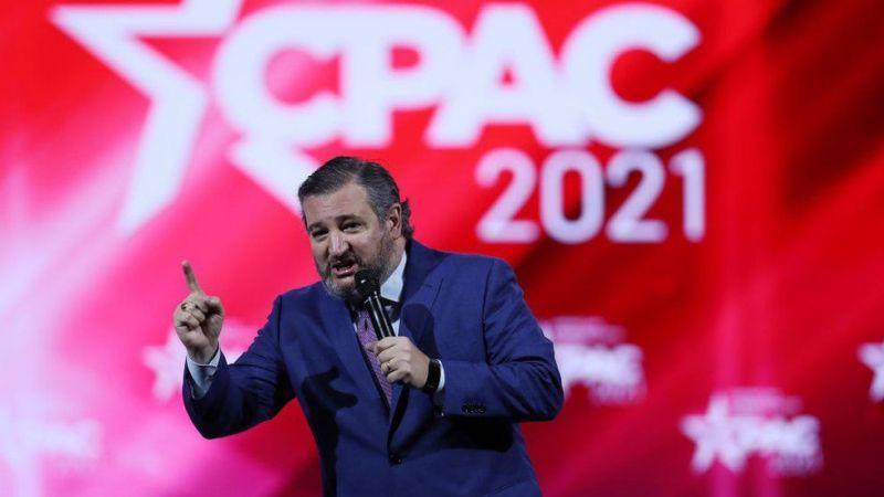 Ted Cruz at Cpac 2021