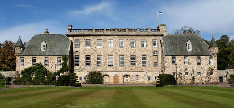 A general view of Gordonstoun School