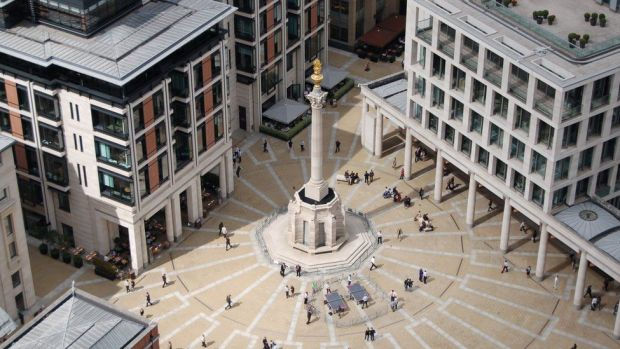 New Paternoster square