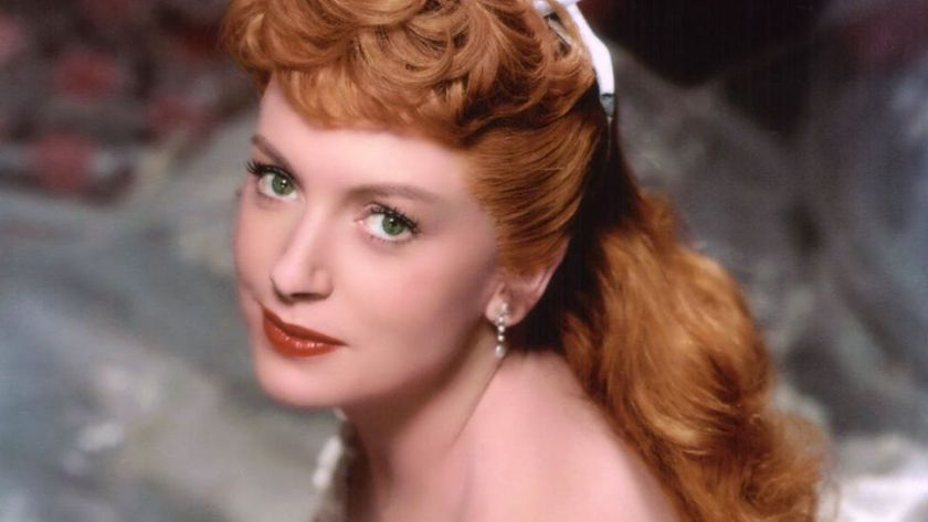 """Actress Deborah Kerr in a scene from the movie """"The King and I"""" (Photo by Donaldson Collection/Getty Images)"""