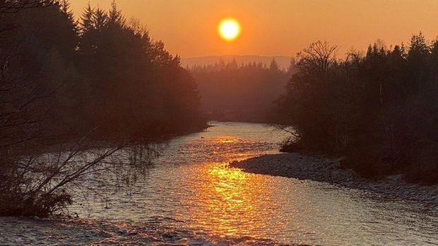 Aboyne sunset