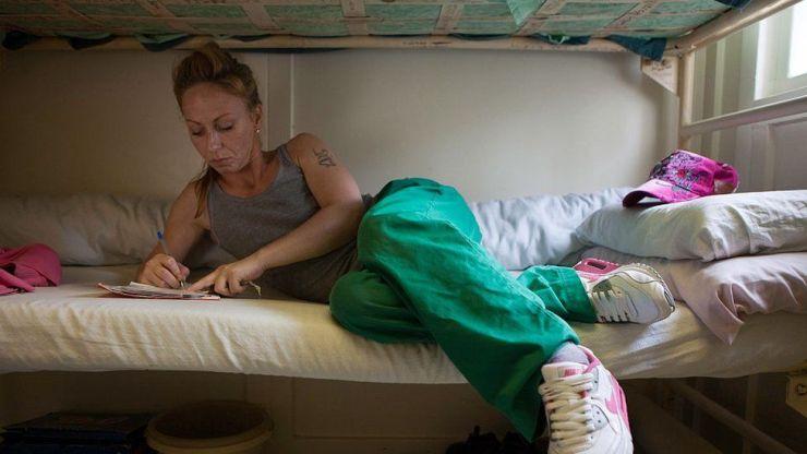 Reclusa en la cárcel de Styal, Reino Unido