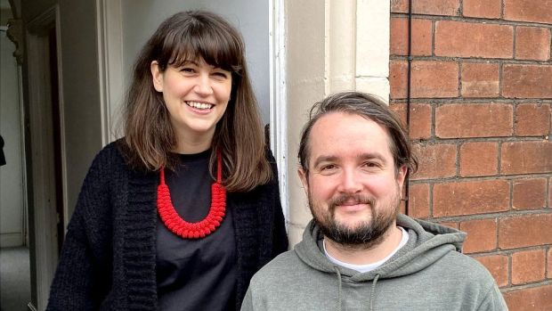 Dunkerry Road residents Laura and Dan Miles