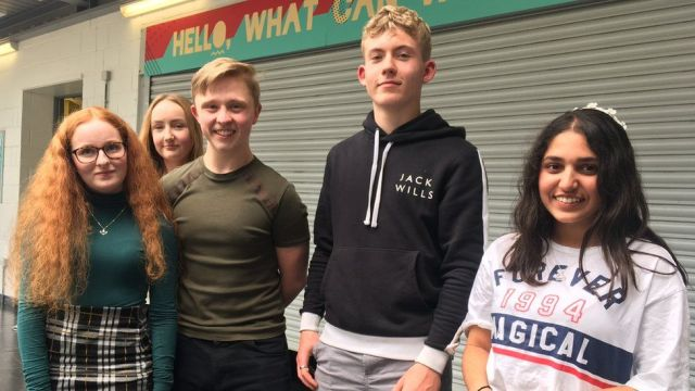 St Wilfrid's sixth formers