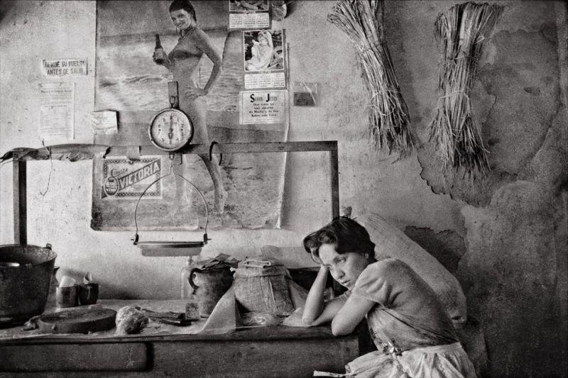 """Vendedora de carne"", Granada, Nicaragua, 1984."