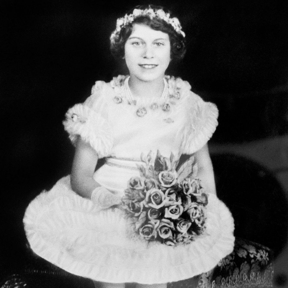 Princess Elizabeth in 1935