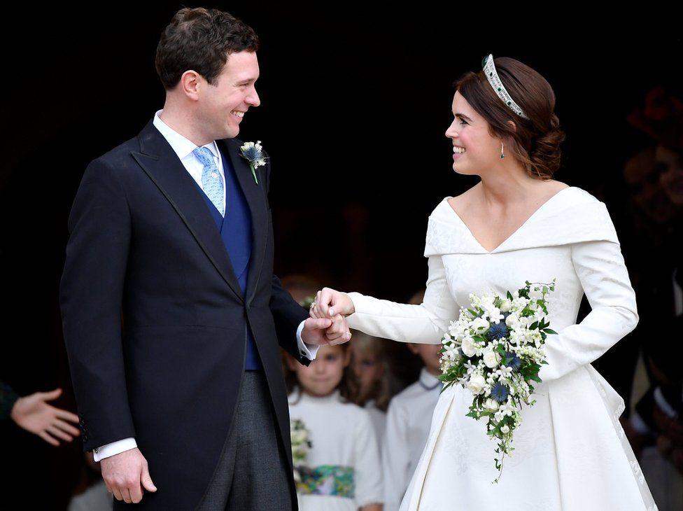 princess eugenie wedding in