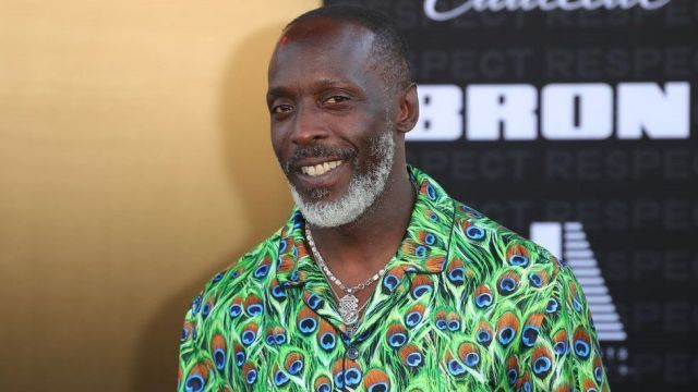 Michael K. Williams attends the Los Angeles premiere Of MGM's Respect on August 08, 2021