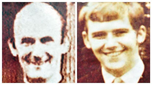 Father Hugh Mullan, 38 and Francis Quinn, 19