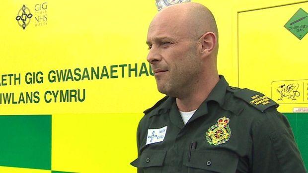 Paramedic Darren Lloyd