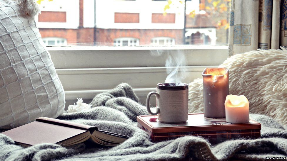 Cosy books and blankets