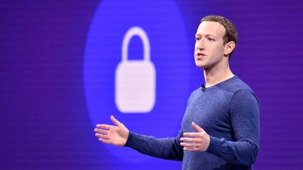 Facebook boss Mark Zuckerberg. File photo