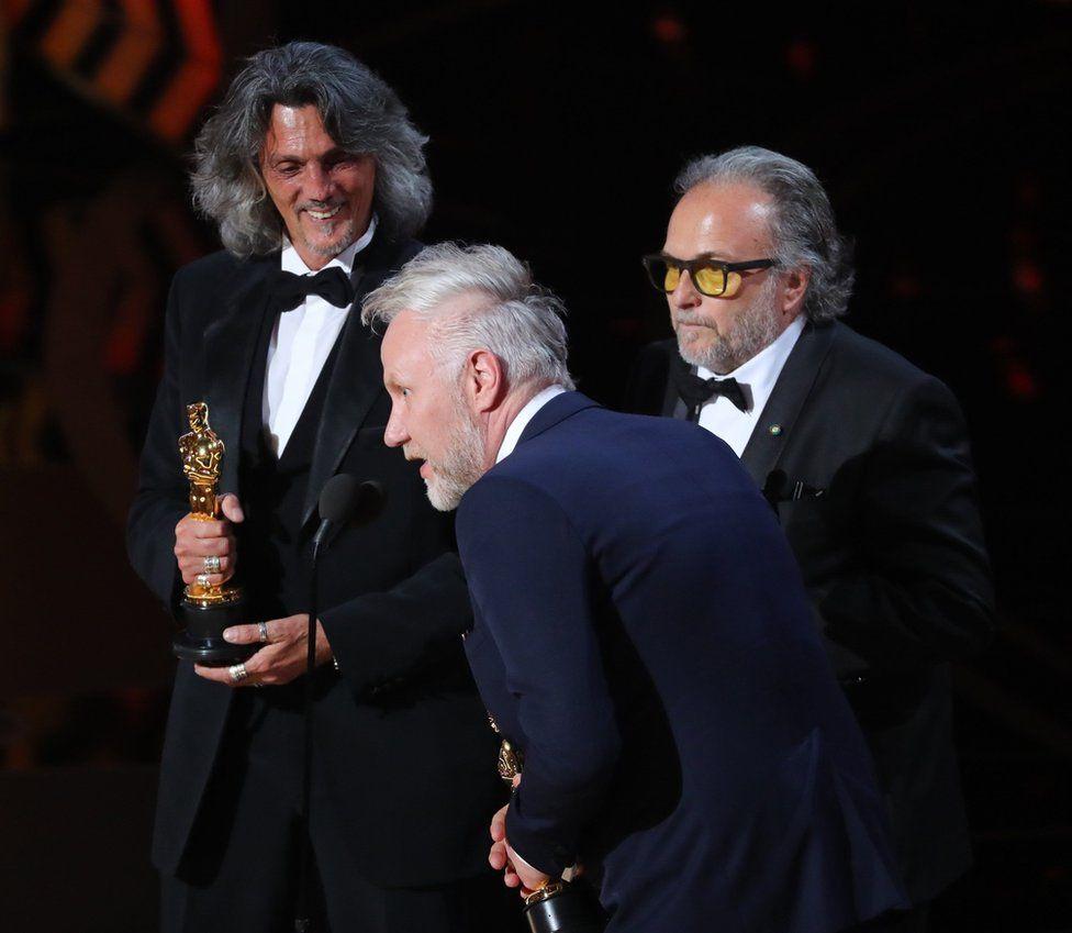 Alessandro Bertolazzi, Giorgio Gregorini and Christopher Nelson
